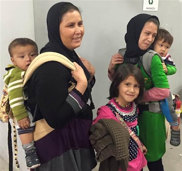 Recogida de #portabebés para Siria en Menorca